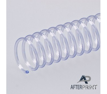Spiral Plastic Binding Coils 8mm Clear